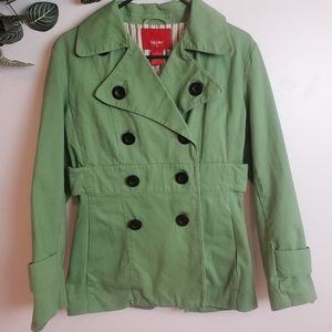 MOSSIMO WOMENS BRUSHED COTTON PEACOAT